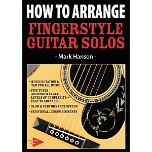 Music-Sales-How-To-Arrange-Fingerstyle-Guitar-Solos--DVD--Standard