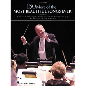 Hal-Leonard-150-More-of-the-Most-Beautiful-Songs-Ever-Songbook---Easy-Piano-Standard
