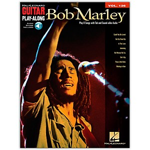 Hal-Leonard-Bob-Marley---Guitar-Play-Along-Volume-126--Book-CD--Standard
