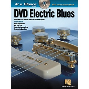 Hal-Leonard-Electric-Blues---At-A-Glance--Book-DVD--Standard