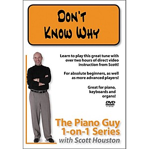 Hal-Leonard-Piano-Guy-1-On-1-Series---Don-t-Know-Why--DVD--Standard