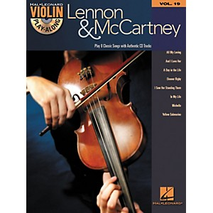 Hal-Leonard-Lennon---McCartney-Violin-Play-Along-Volume-19--Book-CD--Standard