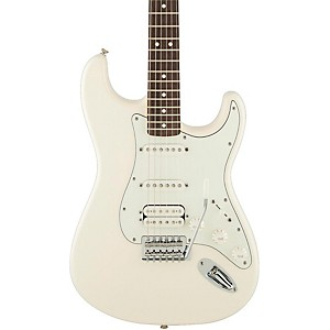 Fender-Standard-Stratocaster-HSS-Electric-Guitar-Arctic-White-Rosewood-Fretboard