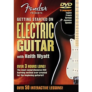Hal-Leonard-Fender-DVD-Package---Getting-Started-On-Electric-Guitar-Standard