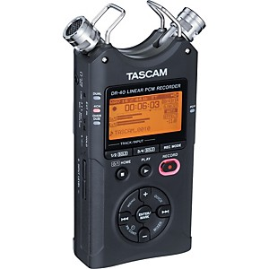 Tascam-DR-40-Portable-Digital-Recorder-Standard