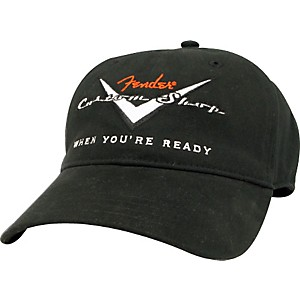 Fender-Custom-Shop-Logo-Hat-L-XL