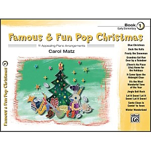 Alfred-Famous---Fun-Pop-Christmas-Book-1-Standard