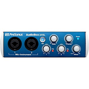 Presonus-Audiobox-22VSL-USB-2-0-Recording-System-Standard