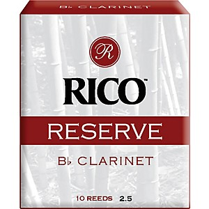 Rico-Reserve-Bb-Clarinet-Reeds-Strength-2-5-Box-of-10