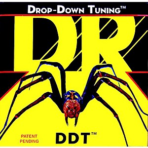DR-Strings-DDT-10-Drop-Down-Tuning-Medium-Electric-Guitar-Strings-3-Pack-Standard
