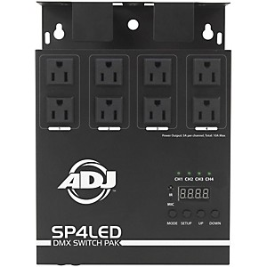 American-DJ-SP4LED-DMX-Switch-Pack-Standard