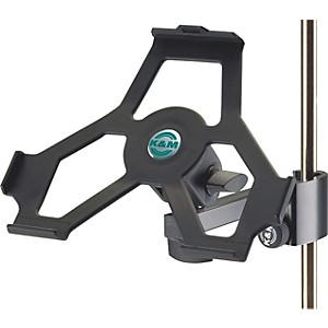 K-M-iPad-Holder-with-Prismatic-Clamp-Black