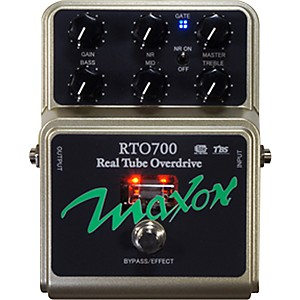 Maxon-RTO700-Real-Tube-Overdrive-Guitar-Effects-Pedal-Standard