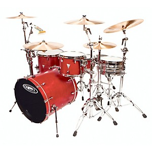 Orange-County-Drum---Percussion-4-Piece-Venice-Trans-Cherry-Wood-Shell-Pack-Trans-Cherry-Red