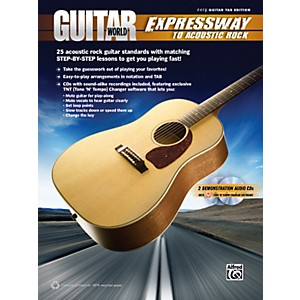 Alfred-Guitar-World---Expressway-to-Acoustic-Rock-Easy-Guitar-TAB-Book---2-CDs-Standard