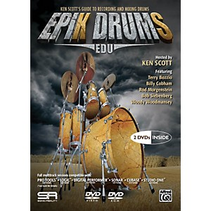 Alfred-EpiK-DrumS-EDU-by-Ken-Scott-2-DVDs-Standard