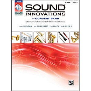 Alfred-Sound-Innovations-for-Concert-Band-Book-2-Horn-in-F-Book-CD-DVD-Standard