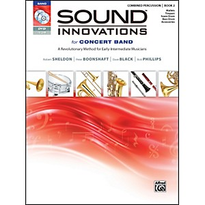Alfred-Sound-Innovations-for-Concert-Band-Book-2-Combined-Percussion-Book-CD-DVD-Standard