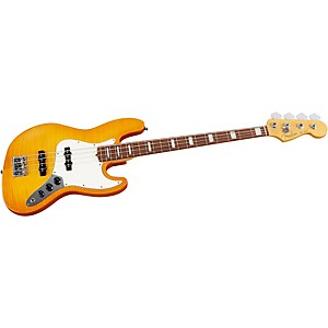 Fender-Select-Jazz-Bass-Guitar-Amber-Burst-Rosewood-Fingerboard