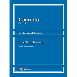 Theodore-Presser-Concerto-Op--110-for-Clarinet-and-Orchestra-Standard