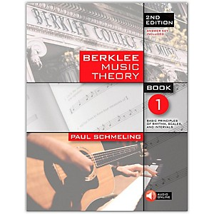 Berklee-Press-Berklee-Music-Theory-Book-1--Book-CD--2nd-Edition-Standard