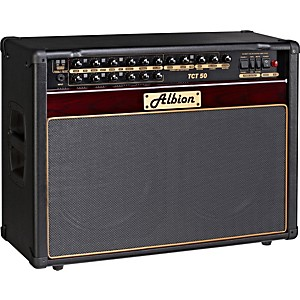 Albion-Amplification-TCT-Series-TCT50C-50W-Tube-Guitar-Combo-Amp-Plum