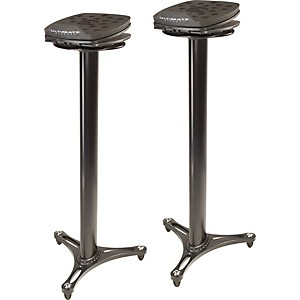 Ultimate-Support-MS-100-Studio-Monitor-Stand-Pair-Black