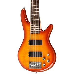 Ibanez-GSR6EX-6-String-Electric-Bass-Guitar-Amber-Burst