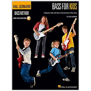 Hal-Leonard-Bass-For-Kids---Bass-Method--Book-CD--Standard