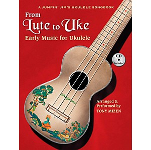Hal-Leonard-From-Lute-To-Uke---Early-Music-For-Ukulele--Book-CD-Package--Standard