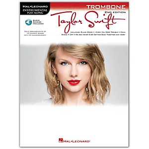Hal-Leonard-Taylor-Swift-For-Trombone---Instrumental-Play-Along-Book-CD-Standard
