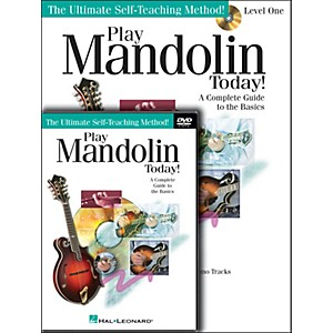 Hal-Leonard-Play-Mandolin-Today--Beginner-s-Pack----Book-CD-DVD--Standard
