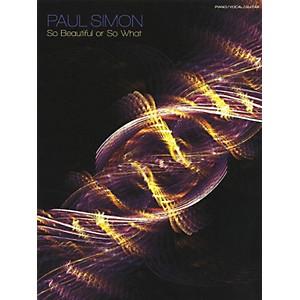 Music-Sales-Paul-Simon---So-Beautiful-Or-So-What-PVG-Songbook-Standard
