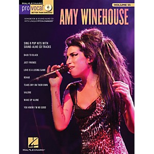 Hal-Leonard-Amy-Winehouse---Pro-Vocal-Songbook---CD-For-Female-Singers-Volume-55-Standard
