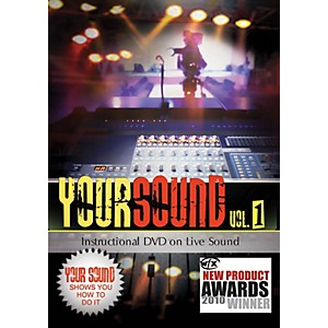 Hal-Leonard-Your-Sound-Vol-1-Instructional-DVD-On-Live-Sound-Standard