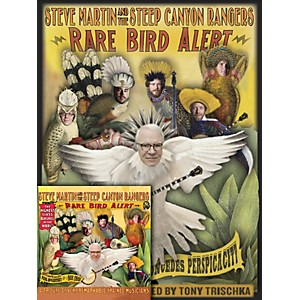 Homespun-Steve-Martin-Rare-Bird-Alert-Book-CD-Bundle-Standard