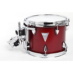 Orange-County-Drum---Percussion-Venice-Cherry-Wood-Tom-8x10-Red-Transparent-Lacquer-Finish