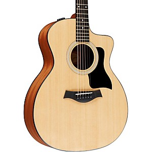 Taylor-114ce-Grand-Auditorium-Acoustic-Electric-Guitar-Natural