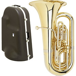 Miraphone-1291-Series-4-Valve-BBb-Tuba-with-Hard-Case-Standard