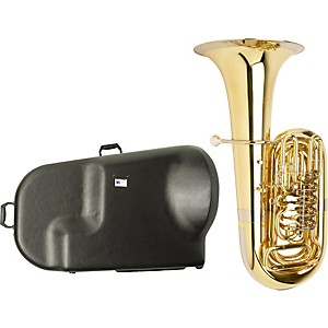 Miraphone-S186-Standard-Series-5-Valve-BBb-Tuba-with-Hard-Case-Standard