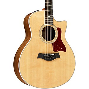 Taylor-456ce-Ovangkol-Spruce-Grand-Symphony-12-string-Acoustic-Electric-Guitar-Natural