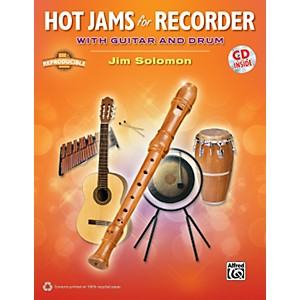 Alfred-Hot-Jams-for-Recorder--Book-CD--Standard