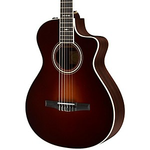 Taylor-712ce-N-Rosewood-Spruce-Nylon-String-Grand-Concert-Acoustic-Electric-Guitar-Vintage-Sunburst