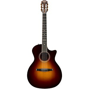 Taylor-714CE-N-Rosewood-Spruce-Nylon-String-Grand-Auditorium-Acoustic-Electric-Guitar-Vintage-Sunburst