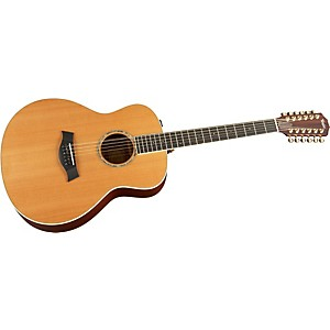 Taylor-GA6e-Maple-Spruce-Grand-Auditorium-Acoustic-Electric-Guitar-Natural