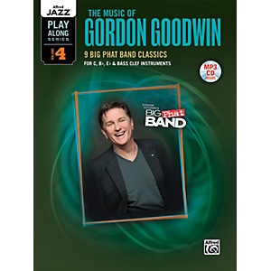 Alfred-The-Music-of-Gordon-Goodwin-Flexible-Instrumentation-Book---MP3-CD-Standard