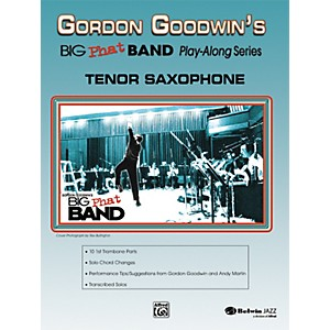 Alfred-Gordon-Goodwin-s-Big-Phat-Band-Play-Along-Series-Tenor-Saxophone-Book---CD-Standard