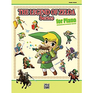 Alfred-The-Legend-of-Zelda-Series-for-Piano-Book-Standard