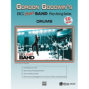 Alfred-Gordon-Goodwin-s-Big-Phat-Band-Play-Along-Series-Drums-Book---CD-Standard