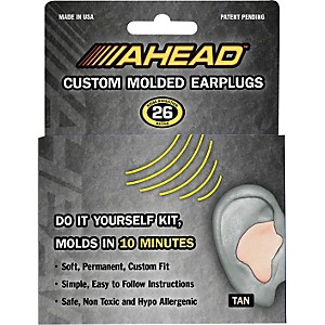 Ahead-Custom-Molded-Earplugs-Tan